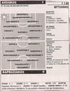 Αιολικός - Βαρβασιακός 1-0
